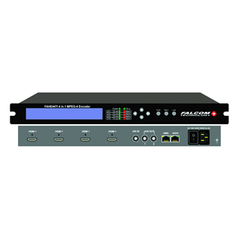 FAHE 44TI MPEG-4 HD encoder with IP out-FALCOM