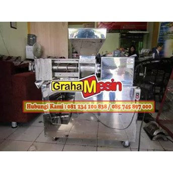 mesin pemeras santan mesin screw press