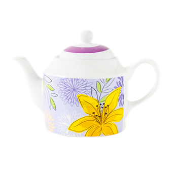 1100ml Teapot _ tutup desai AW 287 Leaves