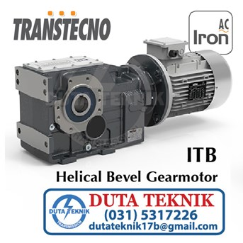 Transtechno Helical Bevel Gearmotor ITB