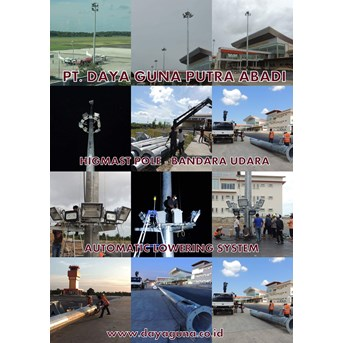 Highmast automatic lowering system