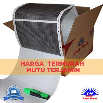 KERTAS SLIP GAJI CARBONIZE / PAY SLIP / MODEL PENDEK