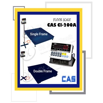 Floor Scale CAS CI 200A