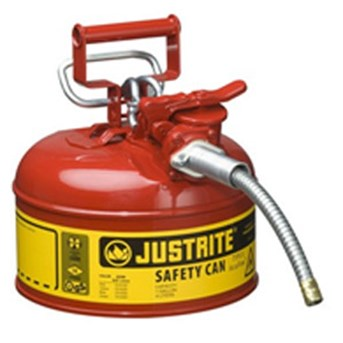Justrite 7210120 Type II AccuFlow Safety Can