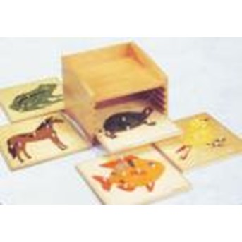 Animal Puzzles Cabinet