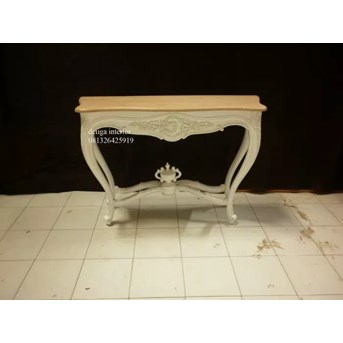 MEJA TAMU CONSULE TABLE CROWN