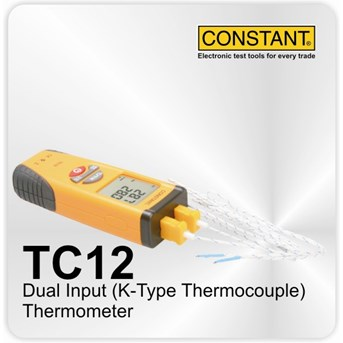 Dual Thermocouple Constant TC12