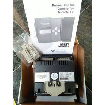 Power factor controllers N-6, N-12 and NC-12 NOKIAN