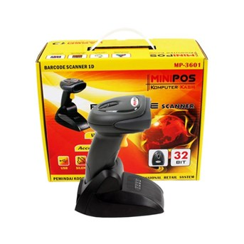 BARCODE SCANNER WIRELESS MINIPOS MP 3601