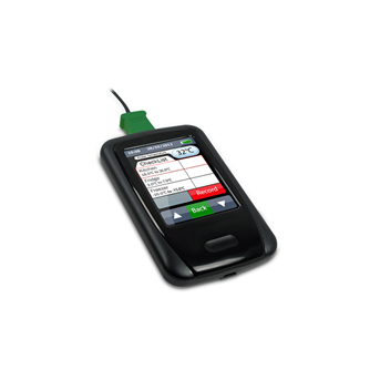 Touch Screen Thermometer Spot Check and Data Logger