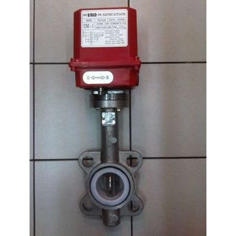 Electric Motorized/ Actuator Butterfly Valve
