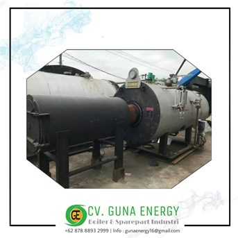 Steam Boiler SteamBloc German 2 Ton