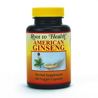 American Ginseng Capsules.
