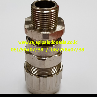 Cable Gland Hawke Brass Nickel Plated 501/453/RAC/A/ M20
