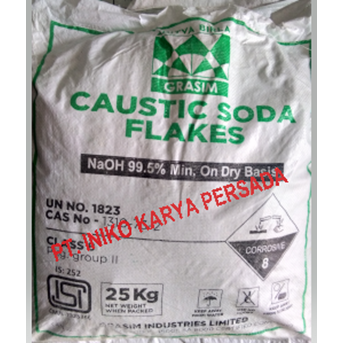 bahan kimia caustic soda flake ex india