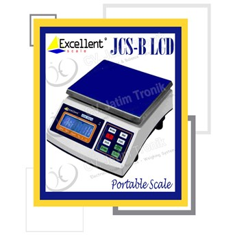 PORTABLE SCALE JCS B LCD