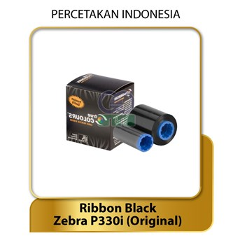 RIBBON BLACK - ZEBRA P330i - Original Zebra - Tinta Printer Label & Barcode