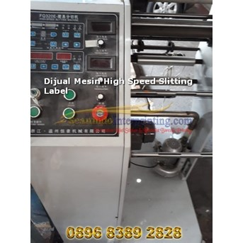 mesin slitting label High speed (printer Label)