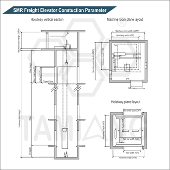 Tamiang SMR Freight Construction Parameter Elevator