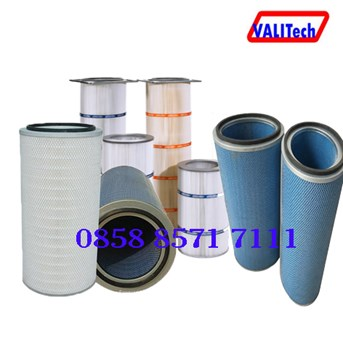 Recycle filter dust collector
