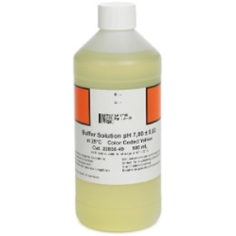 Buffer Solution, pH 7.00, Color-coded Yellow, 500 mL multiparameter water quality meter