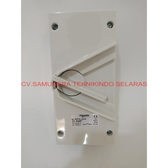 SCHNEIDER TRIPLE POLE WEATHERPROTECTED SURFACE SWITCH