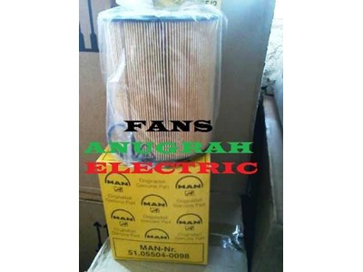 Oil Filter genset 51.05504-0098 for Man