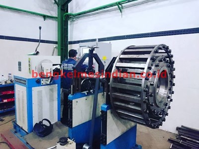 CAGE MILL Proses Dynamic Balancing  Material