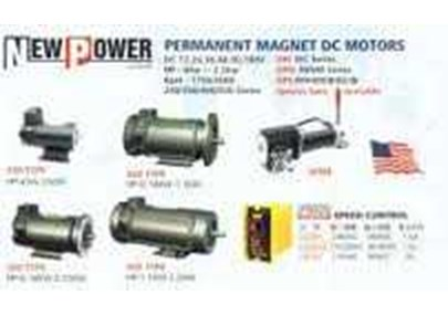 New Power DC Motor