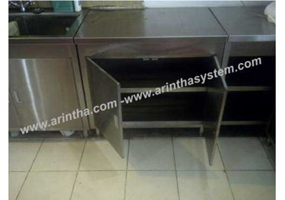 Cabinet Stainless with swing door