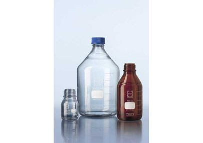 New sizes: DURAN® Laboratory glass bottles GL 45 and GLS 80®
