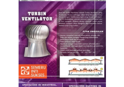 Jual Turbin Ventilator Industri