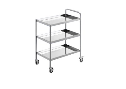 TROLLEY STAINLESS 3 SUSUN