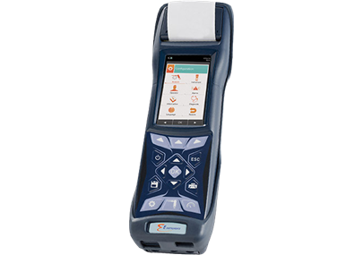 E4500 Hand–Held Industrial Combustion Gas & Emissions Analyzer
