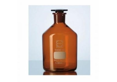 Duran. Reagent Bottle. Botol reagent. Volume 100 mL. Amber Narrow neck. Clear ISO.4796-2. Borosiliacate botol reagen