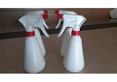 Spray bottles, PP