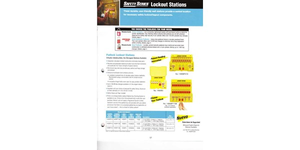 safety series lockout stations