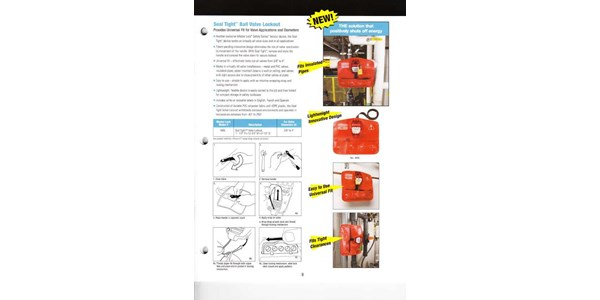 safety series valve lockout devices