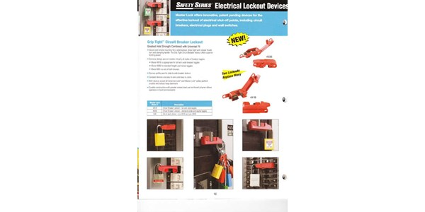 safety series electrical lockout devices