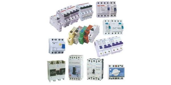 mcb, mccb, nfb rilay over load, pilot lamp, fuse, contactor, panel meter, push buttom
