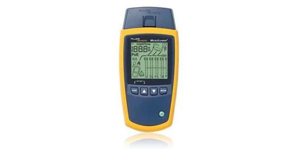 fluke microscanner² cable verifier next-generation microscanner verifies voice/ data/ video cable and services with a revolutionary user interface.