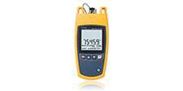fluke fiber oneshot™ pro analyzes fiber links and measures faults up to 15 miles in less than five seconds