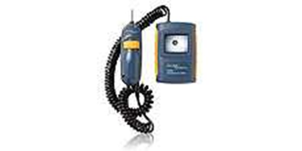 fluke fiberinspector™ mini convenient video microscope enables end-face inspection inside ports and on patch cords.