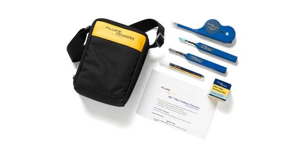 fluke fiber optic cleaning kits the complete solution for precision end-face fiber optic cable cleaning.