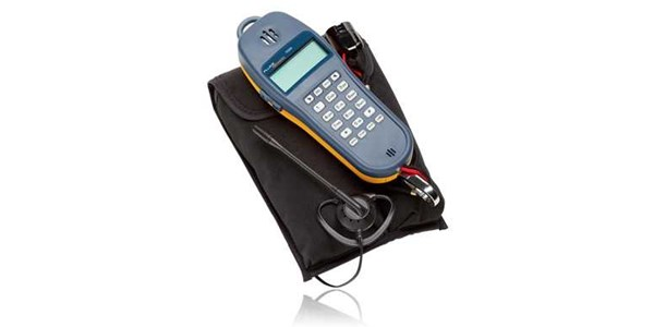 fluke ts® 25d test sets the ts25d features data lockout and lockout override, and a large lcd.