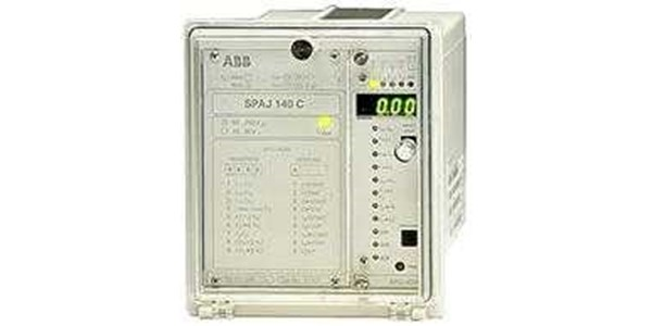 combined overcurrent and earth-fault relay spaj 140 c abb