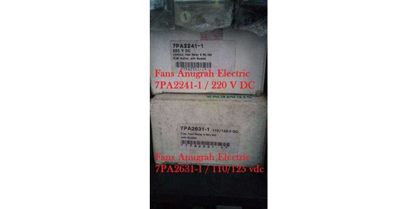 lock-out relay 7pa2241-1 / 220vdc