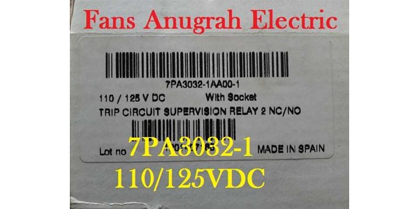 trip circuit supervision ( tcs) relay siemens 7pa3032-1aa00-1-2