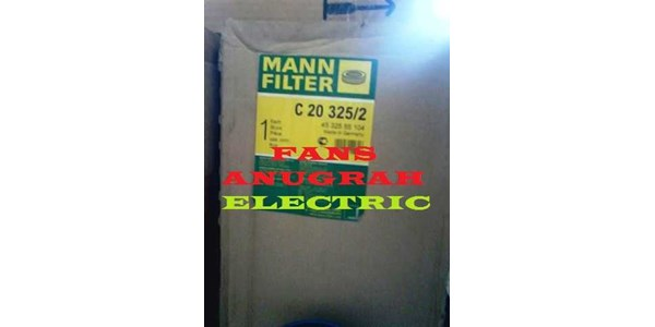 mann c20 325/ 2 air filter - crosses to daf: 265 045 / fiat 1186046 & many more! !-1