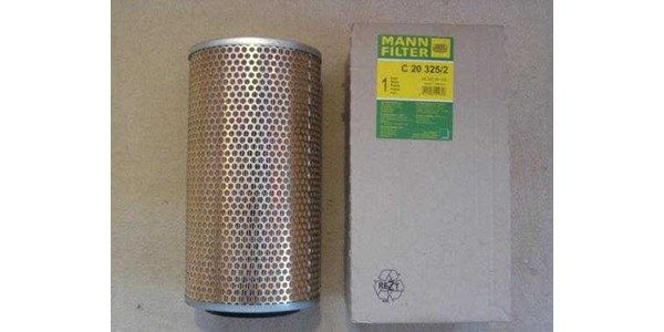 mann c20 325/ 2 air filter - crosses to daf: 265 045 / fiat 1186046 & many more! !-2